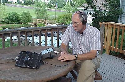 QRP from the deck